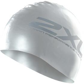 2XU Silicone Svømmehætte, sølv